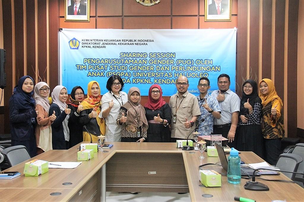 KPKNL Kendari Gelar Sharing Session Bertajuk Pengarustamaan Gender