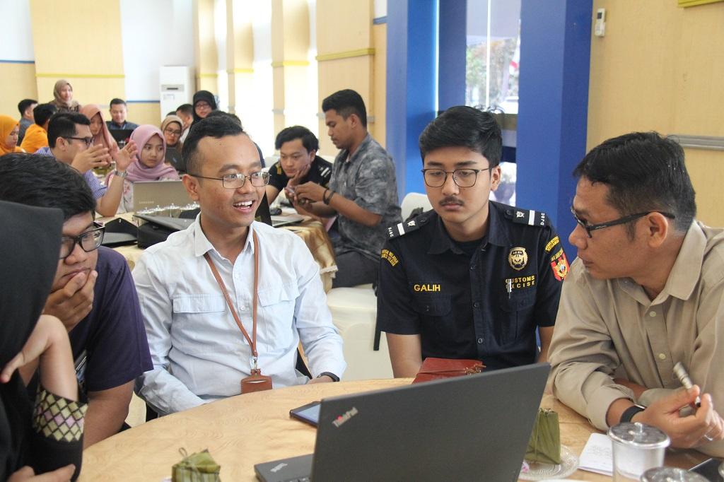 Kaum Millenial KPKNL Kendari Ikuti Workshop Simulasi Penyusunan APBN
