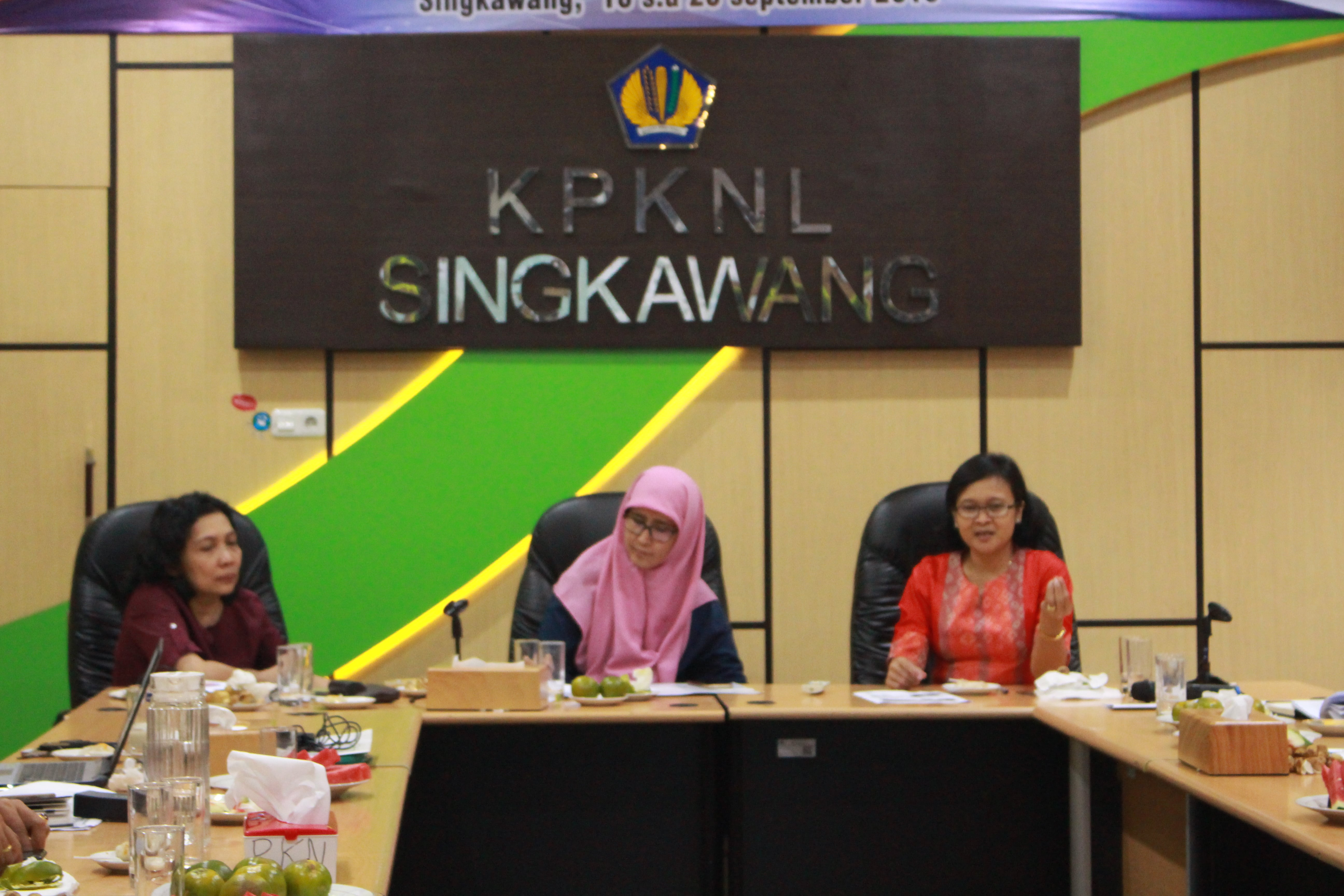 Kegiatan Evaluasi Peraturan Perundang - Undangan Tahun 2019 di KPKNL Singkawang