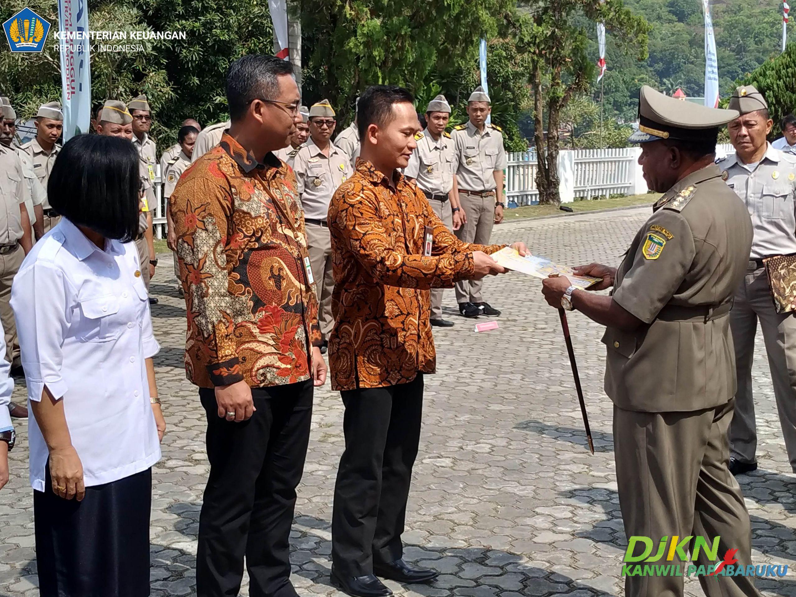 Target Sertifikasi Tanah BMN Tahun 2019 di Provinsi Papua Telah Tercapai