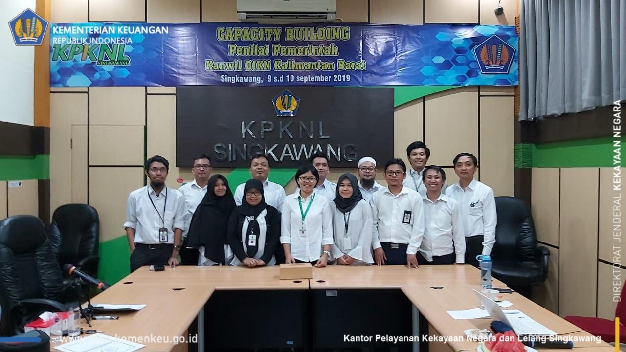 Capacity Building Penilai Pemerintah Kanwil DJKN Kalimantan Barat