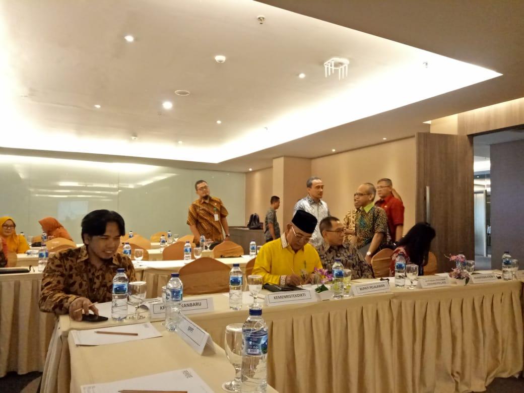 Focus Group Disscussion Kawasan Sains dan Teknologi sebagai Kawasan Pendidikan di Kabupaten Pelalawan