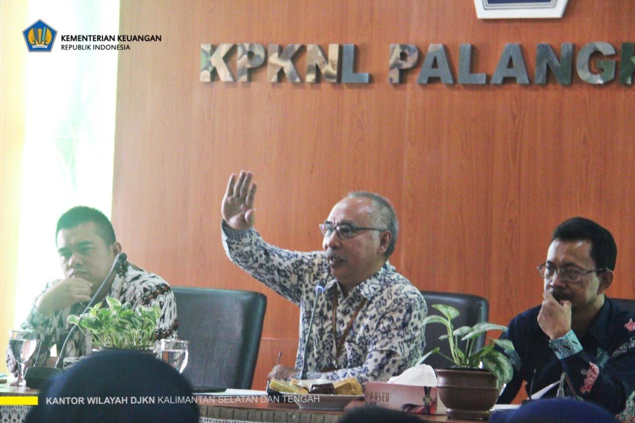 Kakanwil : Terima Kasih Untuk Tetap Semangat Bekerja di Tengah Gangguan Kabut Asap