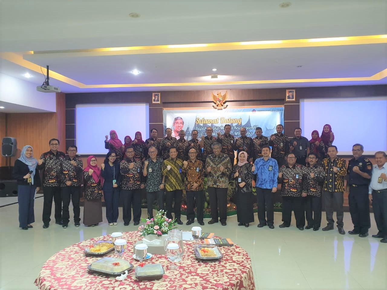 Kunjungan Wakil Menteri Keuangan di Ranah Minang