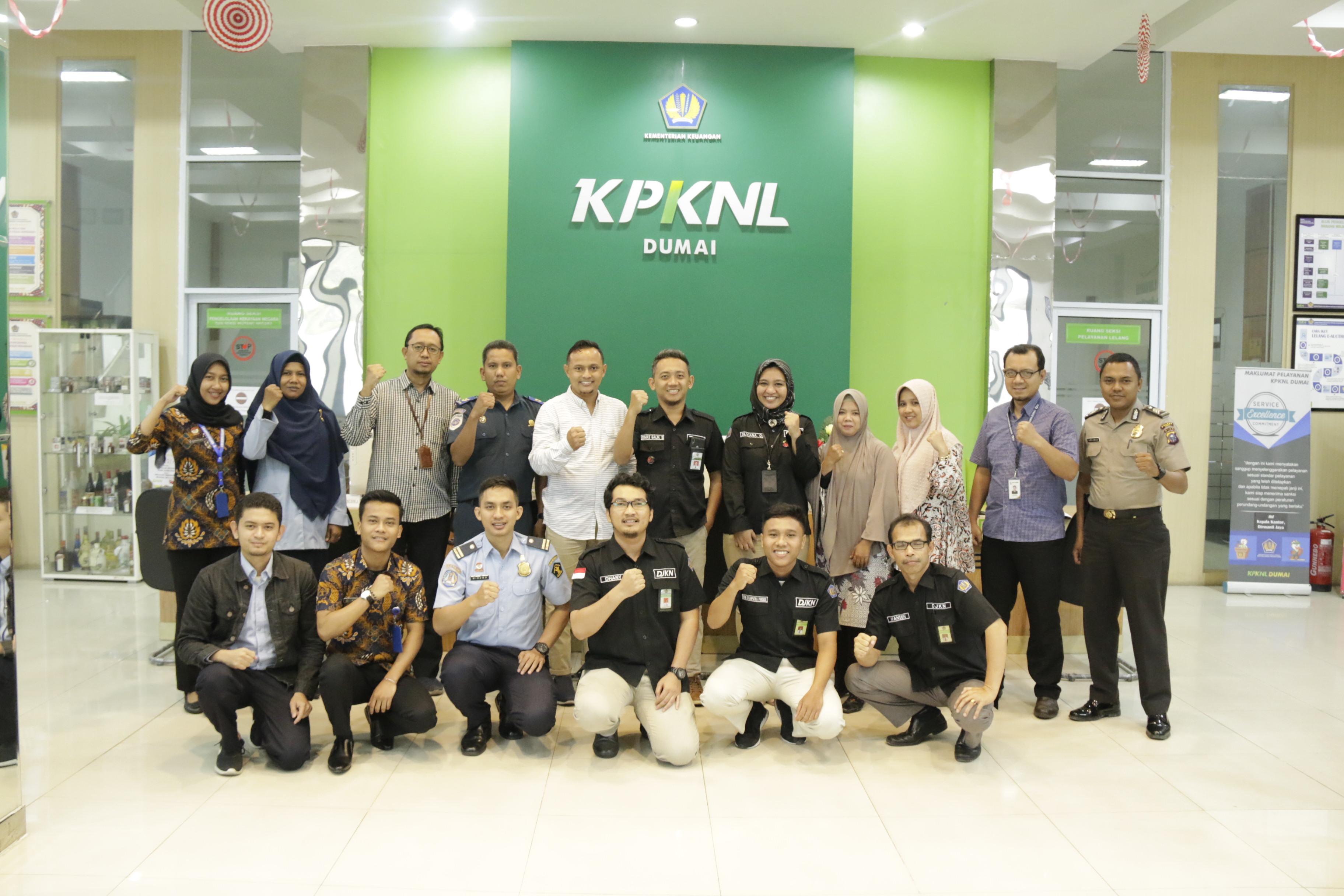 KPKNL Dumai Selenggarakan Sosialisasi Pengelolaan BMN dan Lelang Online