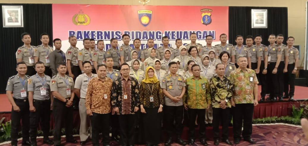 Hadiri Rakernis Keuangan Polda Kaltim, KPKNL Balikpapan Himbau Untuk Ajukan PSP