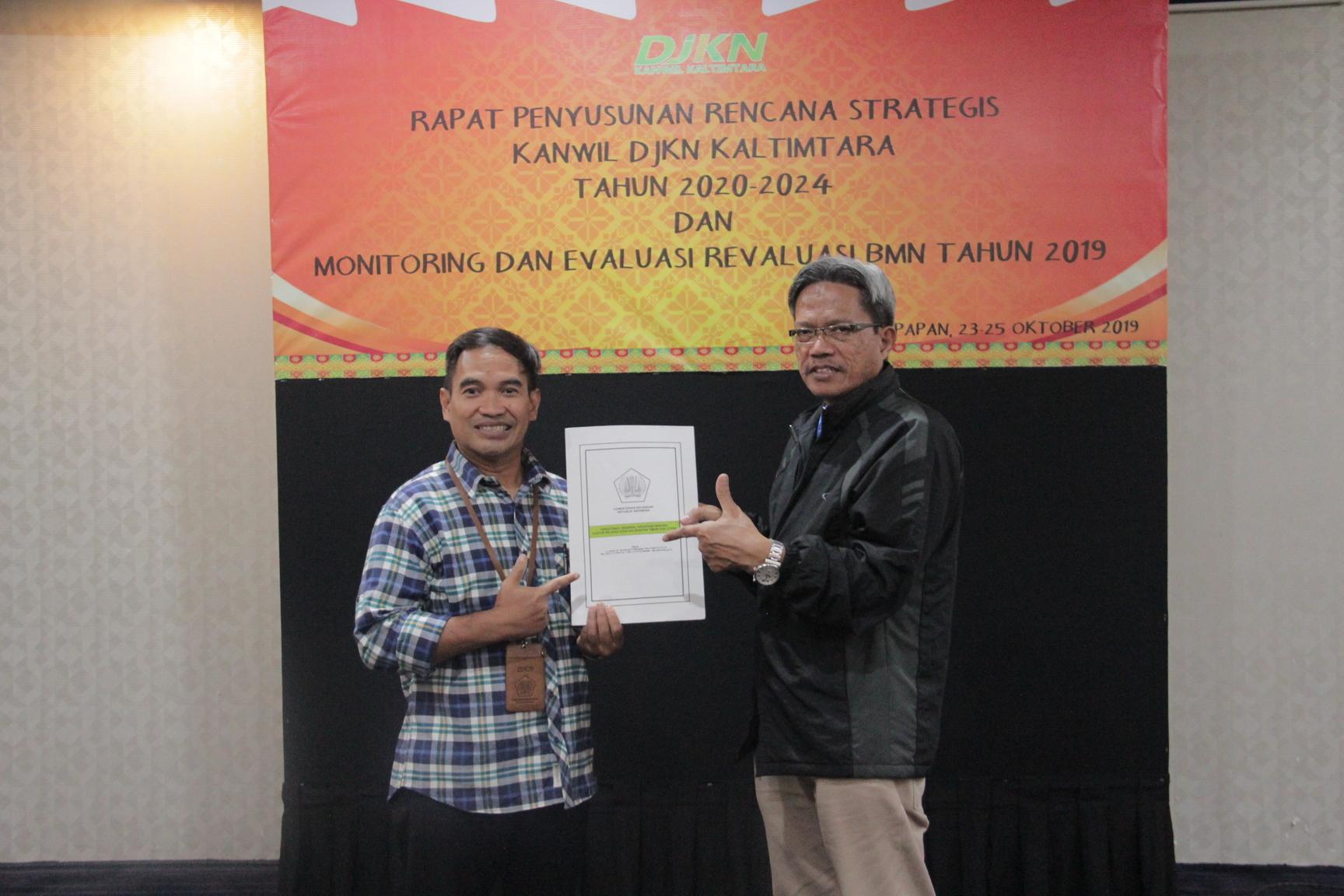 Satukan Visi Misi ke Depan, Kanwil DJKN Kaltimtara Gelar Rapat Renstra 2020-2024
