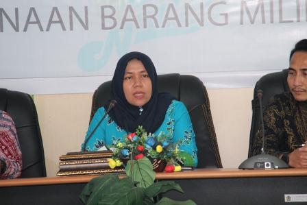 """Sosialisasi Penggunaan BMN , Kepala KPKNL Gorontalo : """"Masih banyak BMN pada pengguna barang belum di PSP kan."""""""