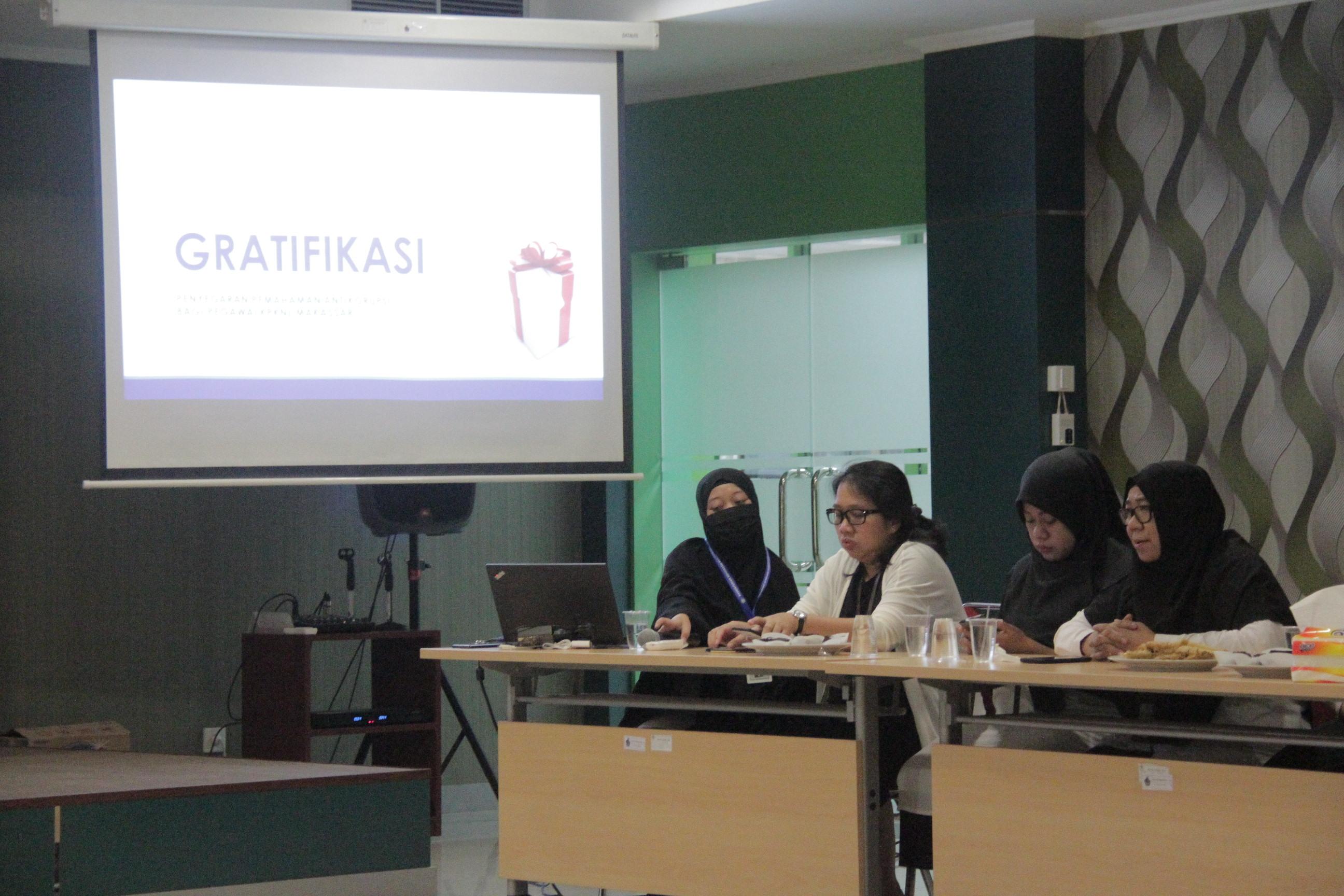 Penyegaran Pemahaman Antikorupsi pada KPKNL Makassar