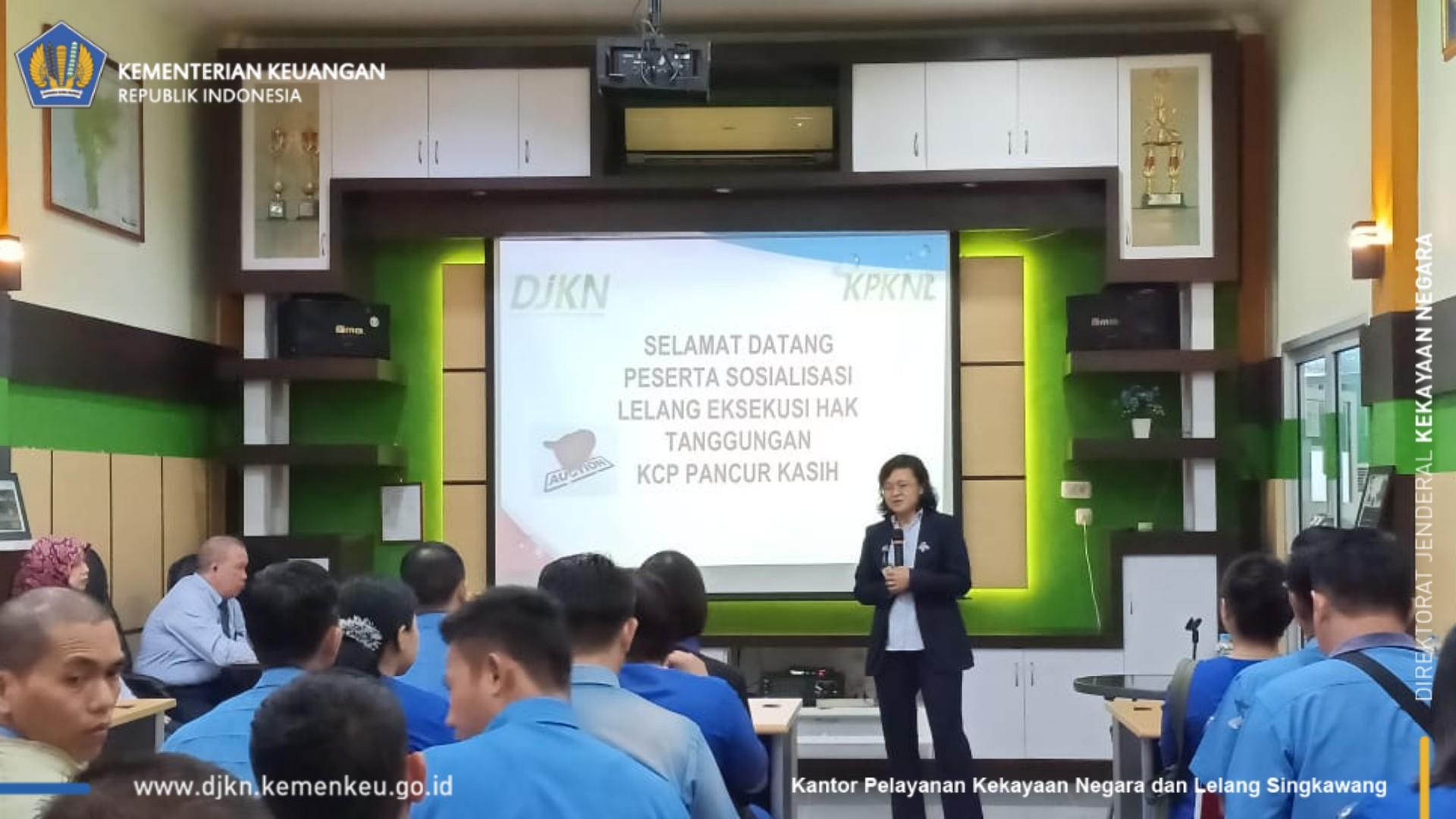 Sosialisasi Lelang Eksekusi Hak Tanggungan (HT) Bagi KSP Pancur Kasih Se-Kalimantan Barat