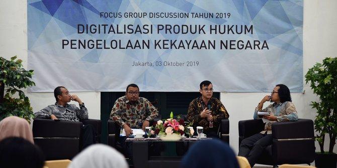 DJKN Akan Wujudkan Digitalisasi Produk Hukum Pengelolaan Kekayaan Negara