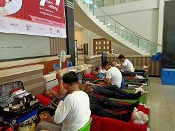 Aksi Donor Darah Menyambut Hari Oeang ke-73 di Tanah Mandar