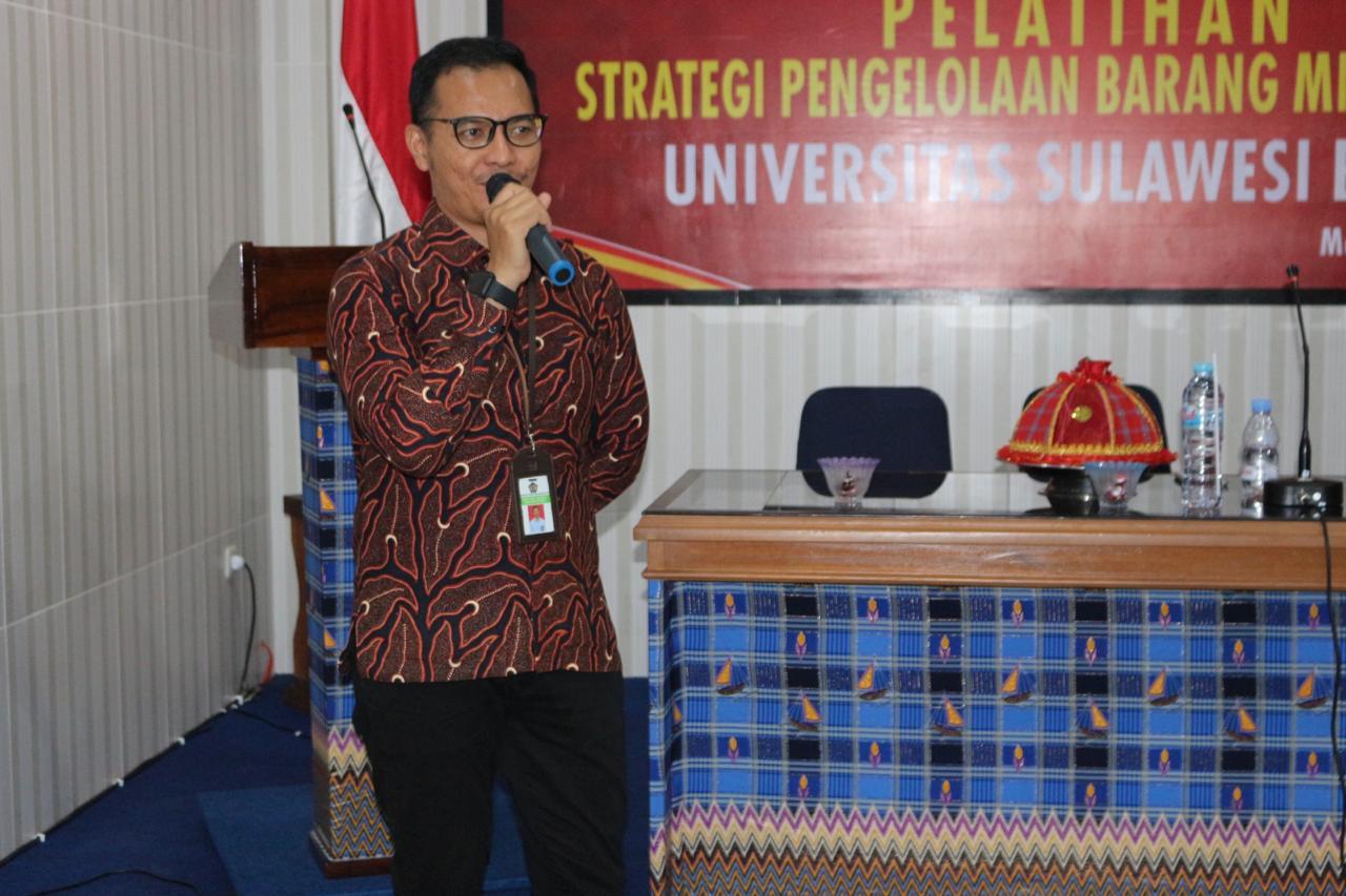 Sosialisasi dan Pelatihan BMN di Lingkungan Universitas Sulawesi Barat
