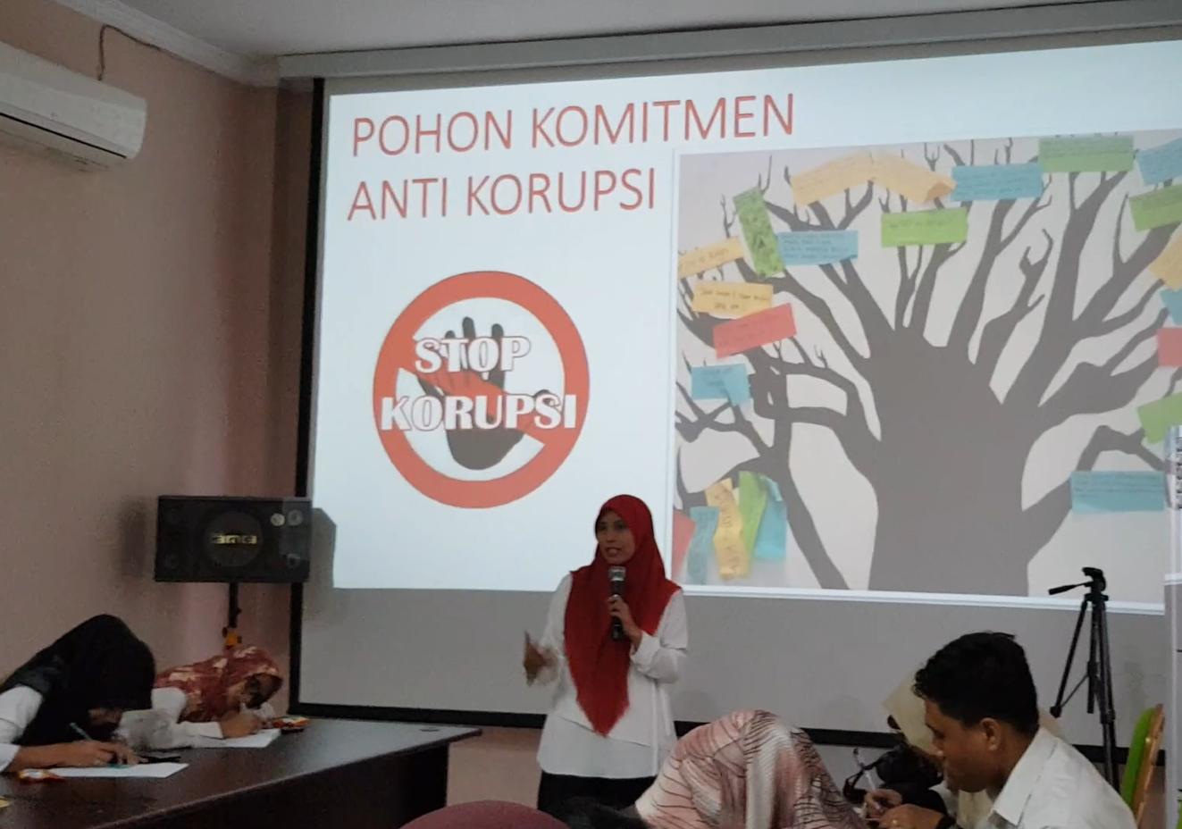 Penyuluhan Antikorupsi, KPKNL Dumai Bersih Melayani