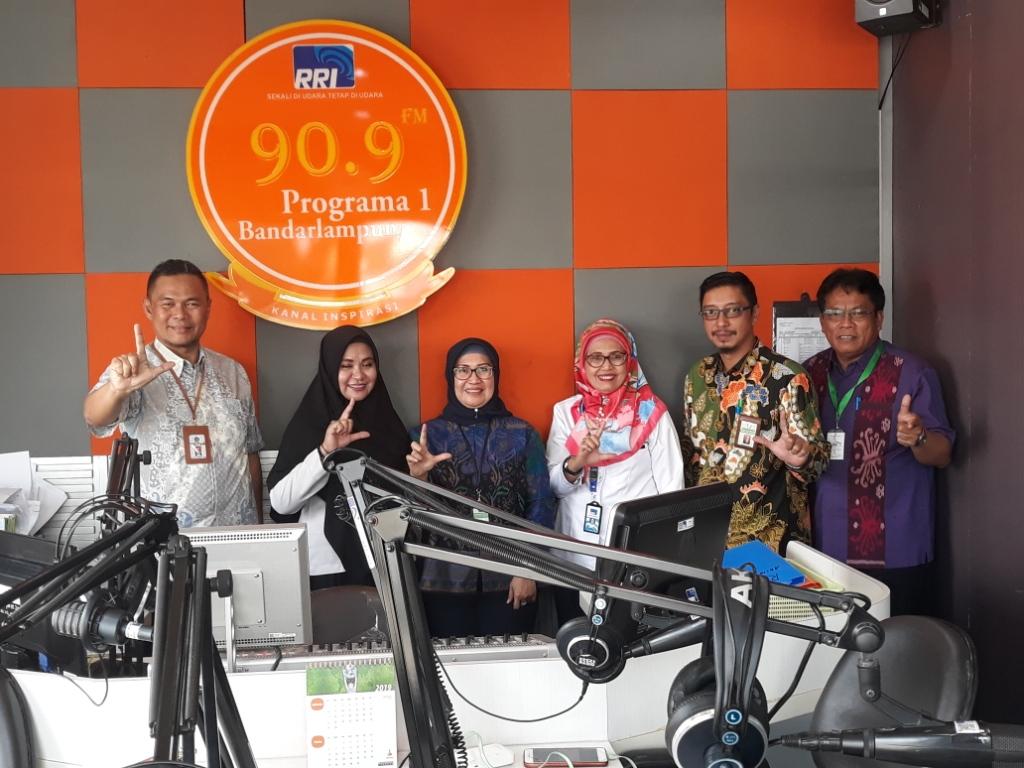 Dialog Interaktif DJKN Lampung Bersama RRI Bandar Lampung - Peran Strategis DJKN Dalam Pengelolaan Kekayaan Negara
