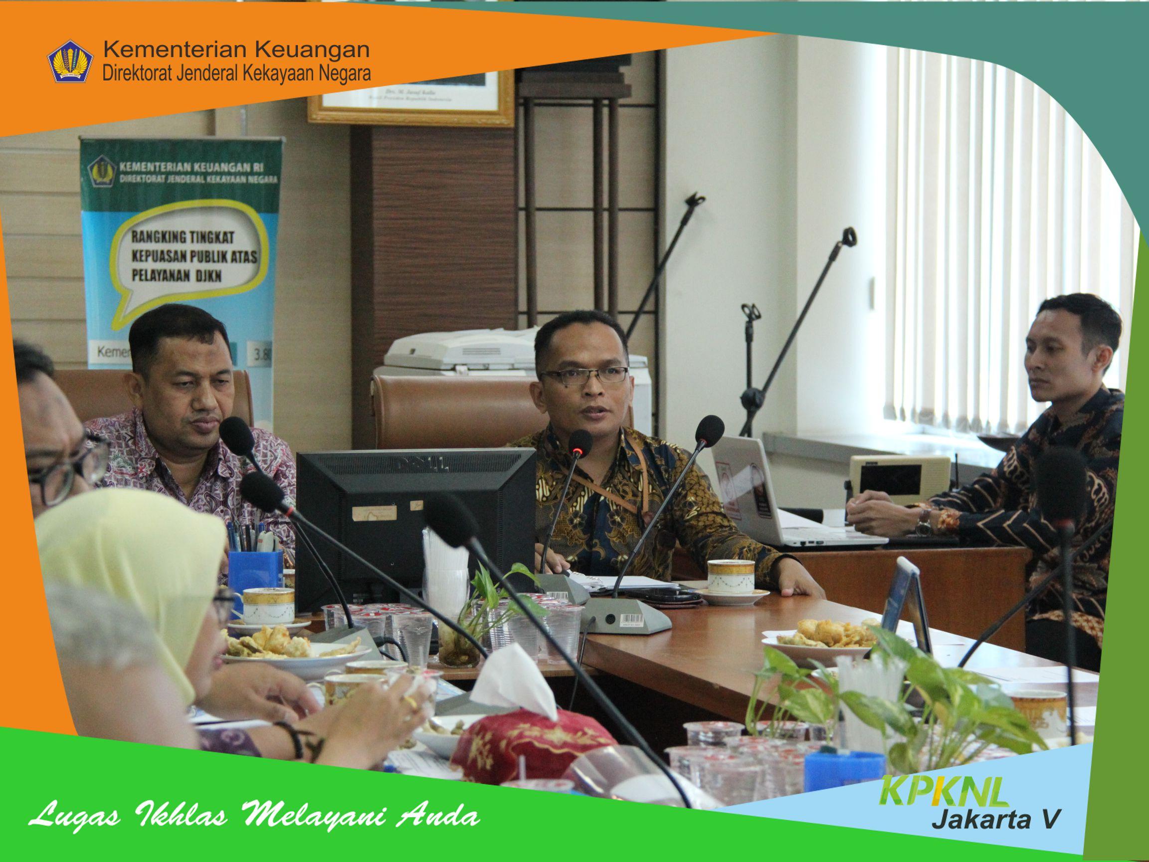 KPKNL Jakarta V Selenggarakan Dialog Kinerja Organisasi Triwulan I Tahun 2019