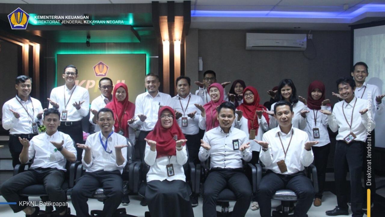 Tembus 3 Besar, KPKNL Balikpapan Paparkan Inovasi Kearsipan