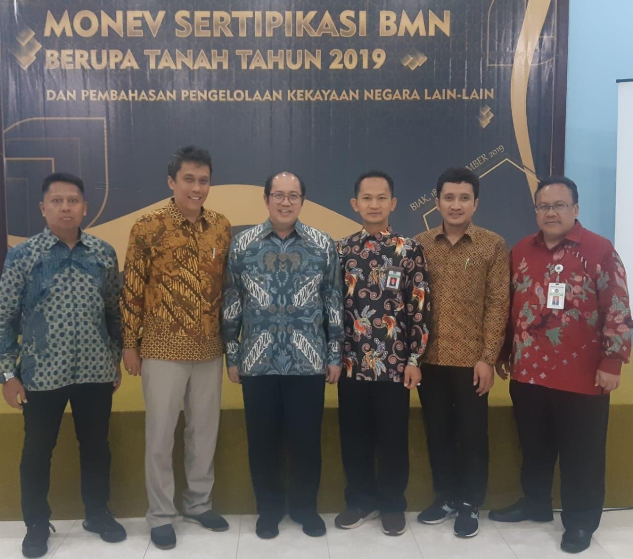 DARI UJUNG TIMUR INDONESIA DIRJEN KEKAYAAN NEGARA MENYERUKAN PERCEPATAN PENSERTIFIKASIAN BMN BERUPA TANAH