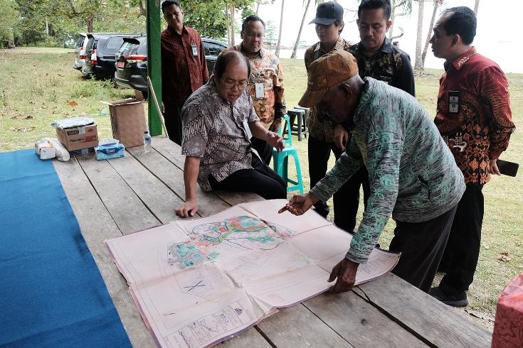 Bersama Dirjen Kekayaan Negara, Mengunjungi Aset Jaminan Piutang Negara Biak Marauw