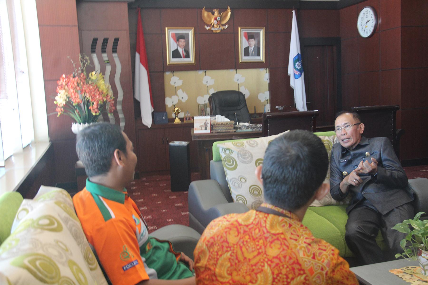 KPKNL Ternate Lakukan Kunjungan Kerja Ke Kabupaten Halmahera Utara