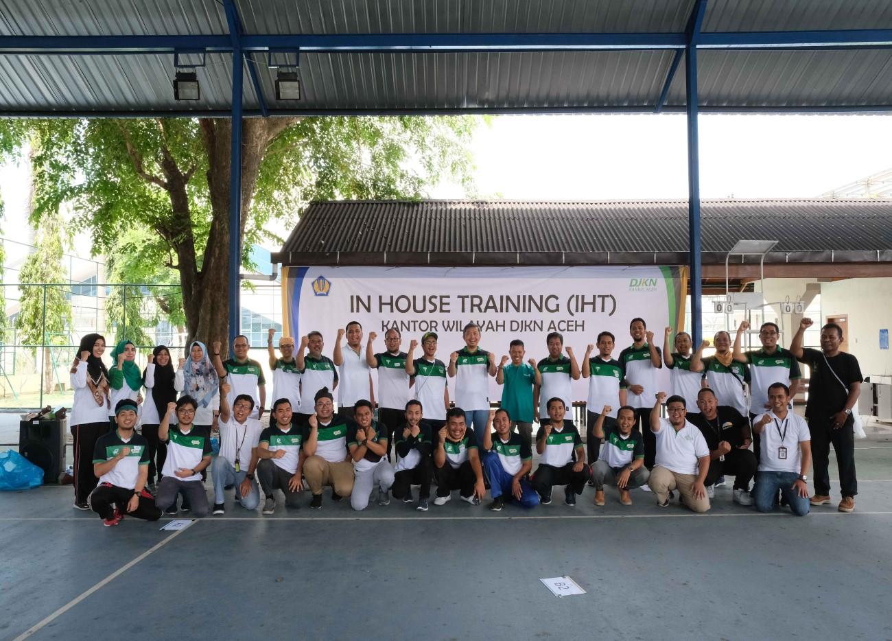 Tingkatkan Sinergi Antar Pegawai, Insan DJKN Aceh Ikuti Pelatihan In House Training (IHT)