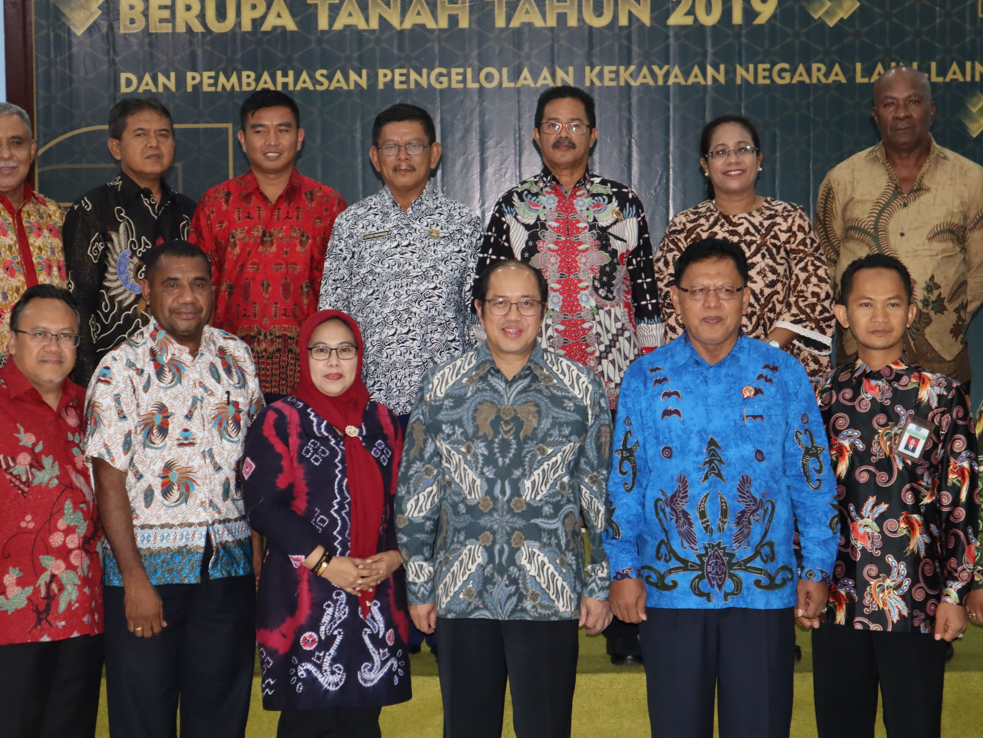 Dirjen Kekayaan Negara Apresiasi Sertipikasi BMN Berupa Tanah Tahun 2019 Wilayah Papabaruku