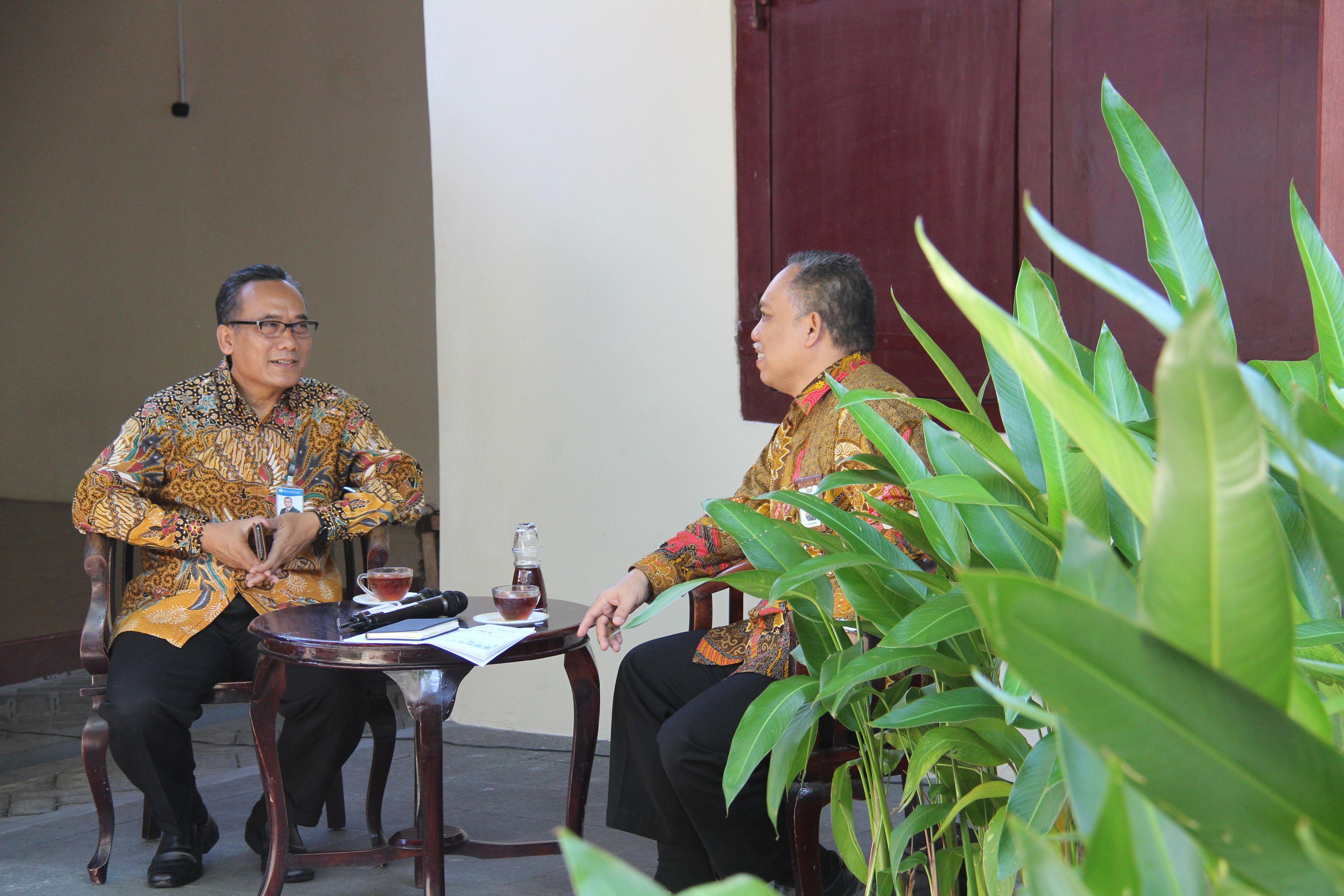 Kofi Nitaika: Diskusi Lelang KPKNL Ternate dengan Perbankan Maluku Utara