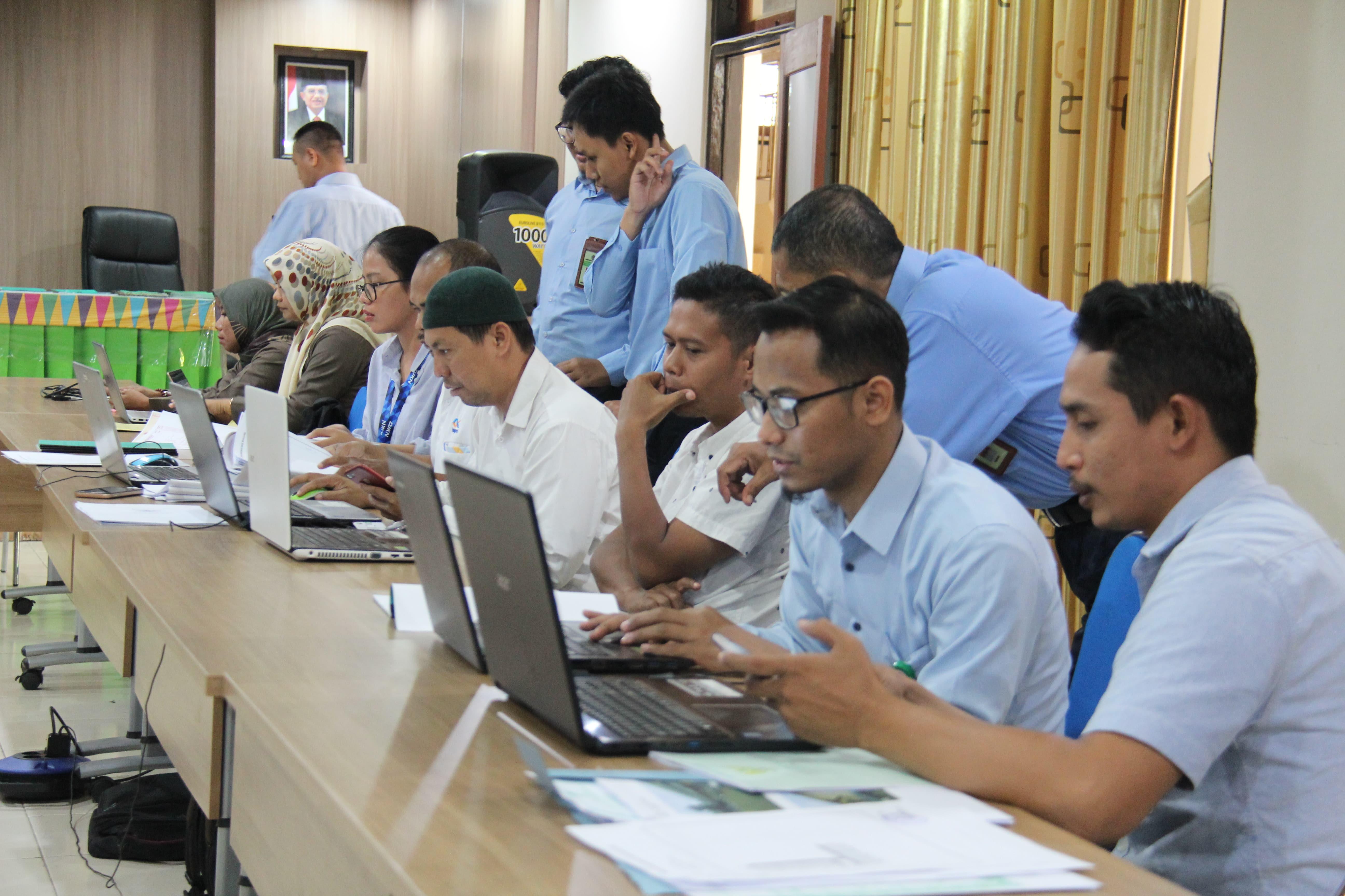 Berprinsip Pada Kesempurnaan, KPKNL Bima Adakan Asistensi Form Pendataan SIMAN