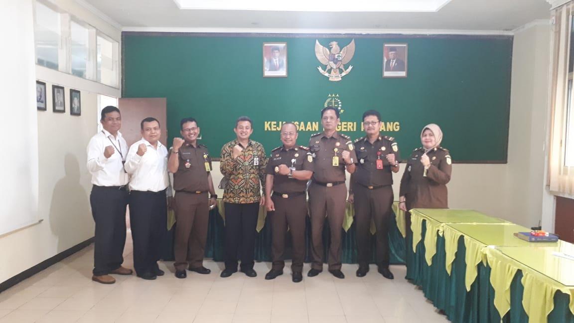 Gali Potensi Lelang, KPKNL Padang kunjungi Kejaksaan Negeri Padang
