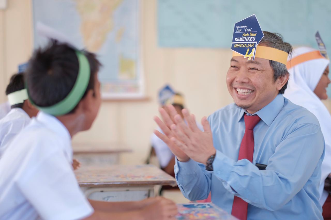 Kemenkeu Mengajar 4 Dari Ujung Barat Indonesia