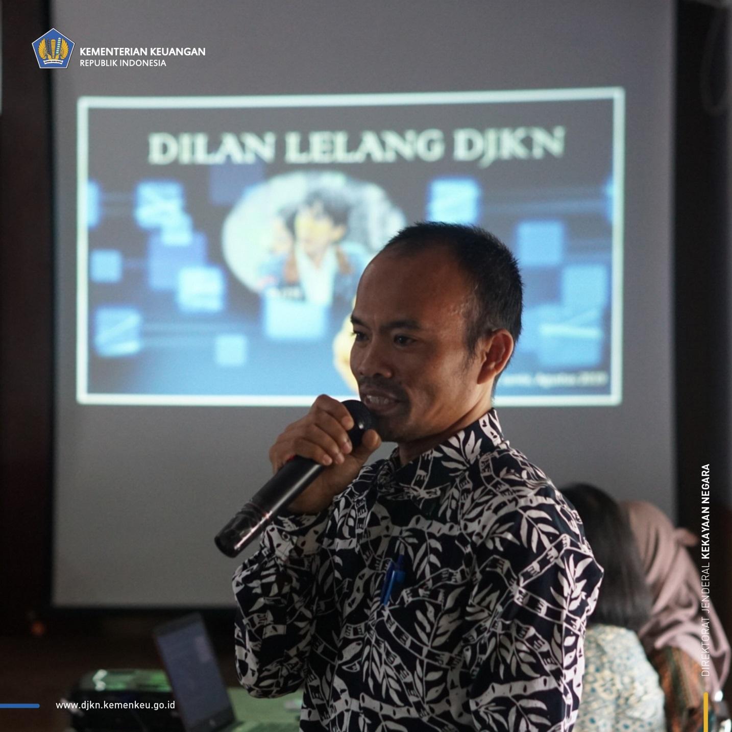 KPKNL Jambi Melakukan Sosialisasi Digitalisasi Layanan (DILAN) Lelang Sekaligus Melelang Kendaraan Dinas Pemerintah Kabupaten Sarolangun