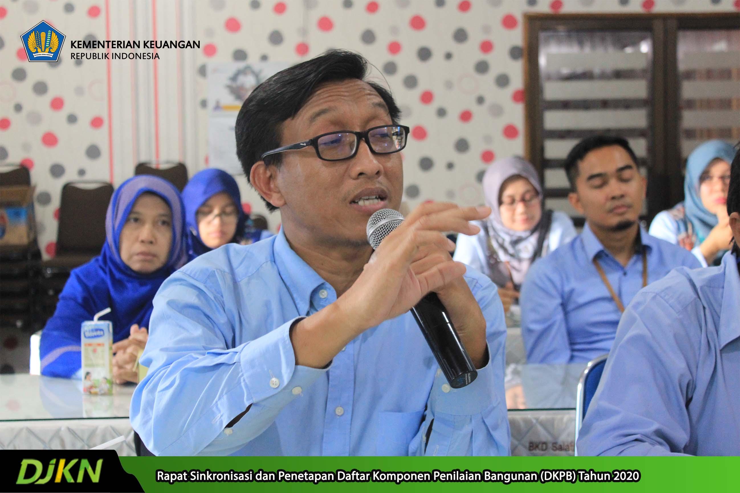 Pembukaan Rapat Sinkronisasi DKPB, Sekretaris BKD Salatiga: Banyak Tugas BKD Beririsan dengan DJKN