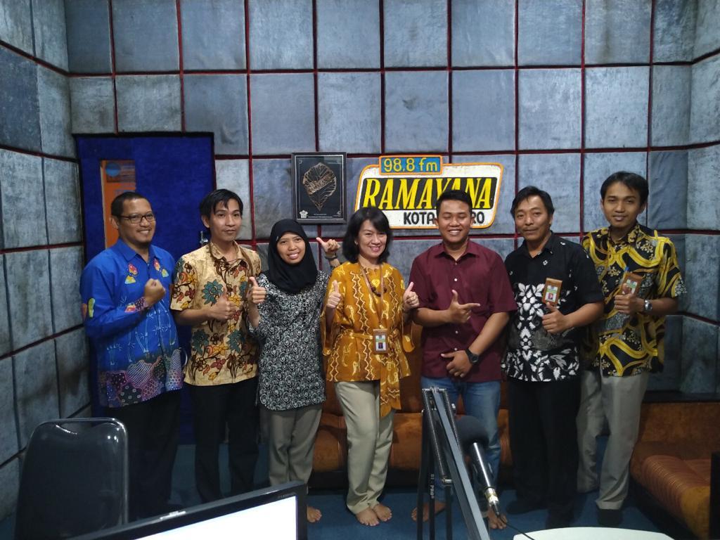 KPKNL Metro Mengudara Melalui Radio Ramayana 98.8 FM Kota Metro