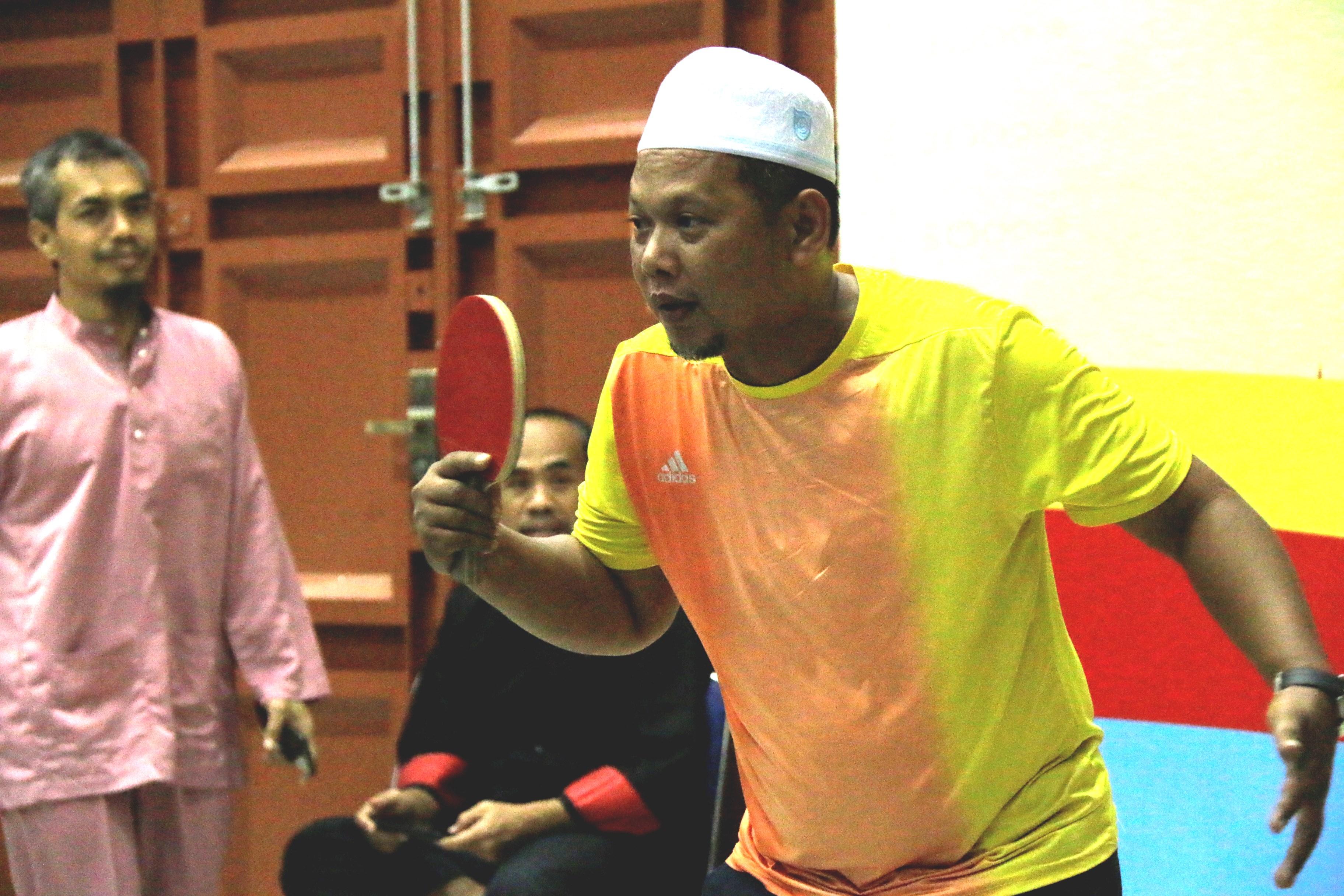 KPKNL Dumai Juarai Tenis Meja Peringatan Hari Oeang ke-73