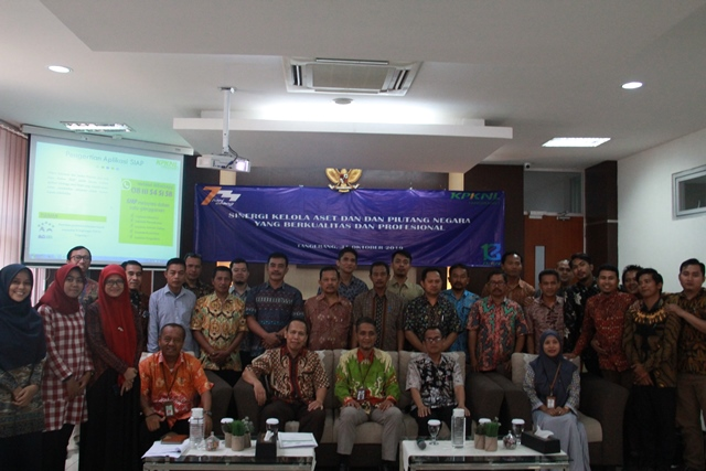 Kegiatan Sosialisasi Bidang Pengelolaan Kekayaan Negara, Piutang Negara, dan Lelang  di KPKNL Tangerang I
