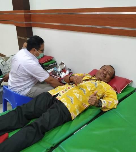 Aksi Donor Darah di KPKNL Tangerang I