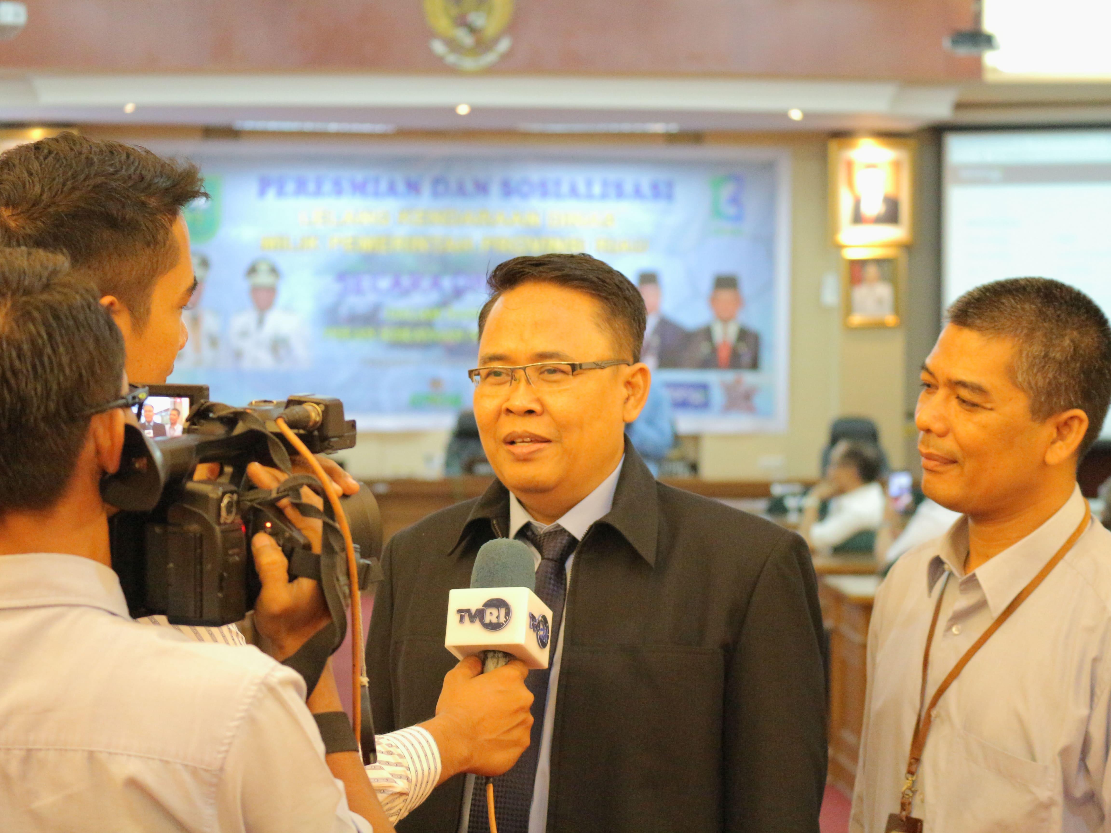 Lelang Kendaraan Operasional Perangkat Daerah (OPD) Provinsi Riau