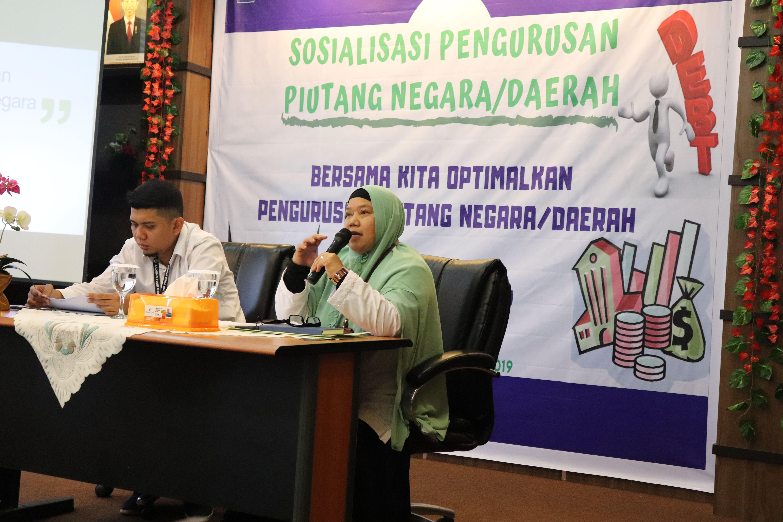 Optimalkan pengurusan piutang Negara, KPKNL Padang gelar sosialisasi dengan pengguna jasa