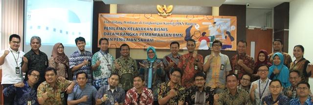 Forum Group Discussion (FGD) Bidang Penilaian  di lingkungan Kantor Wilayah DJKN Banten