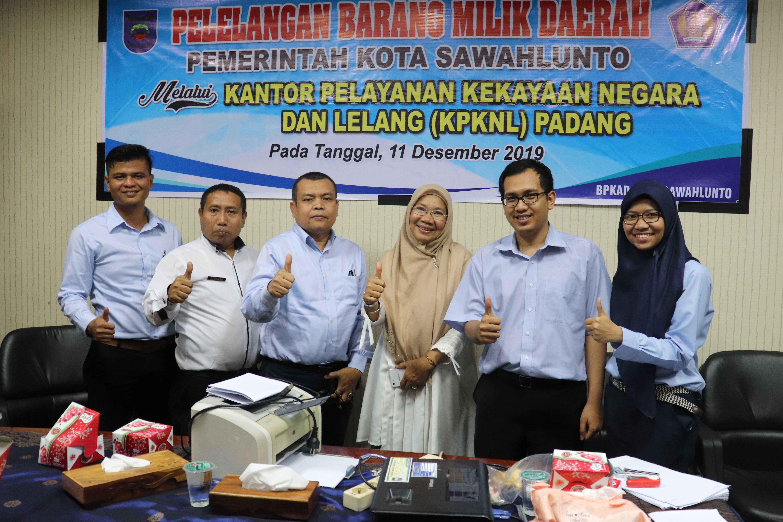 Benahi Aset, Pemkot Sawahlunto Lelang Barang Milik Daerah melalui KPKNL Padang