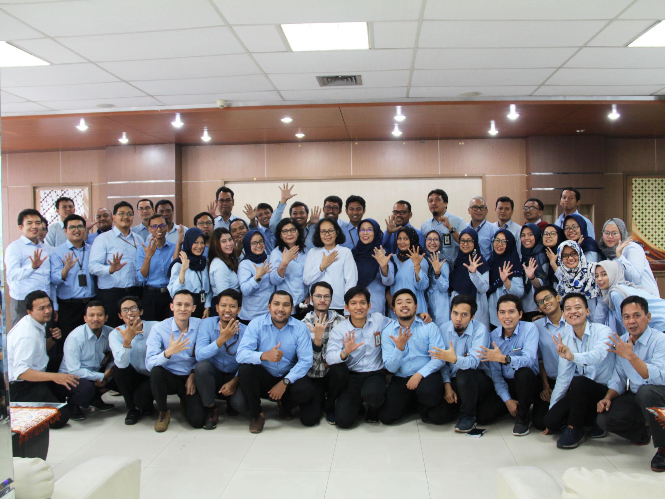 KPKNL Jakarta V Lepas 11 Pegawai yang Dimutasi