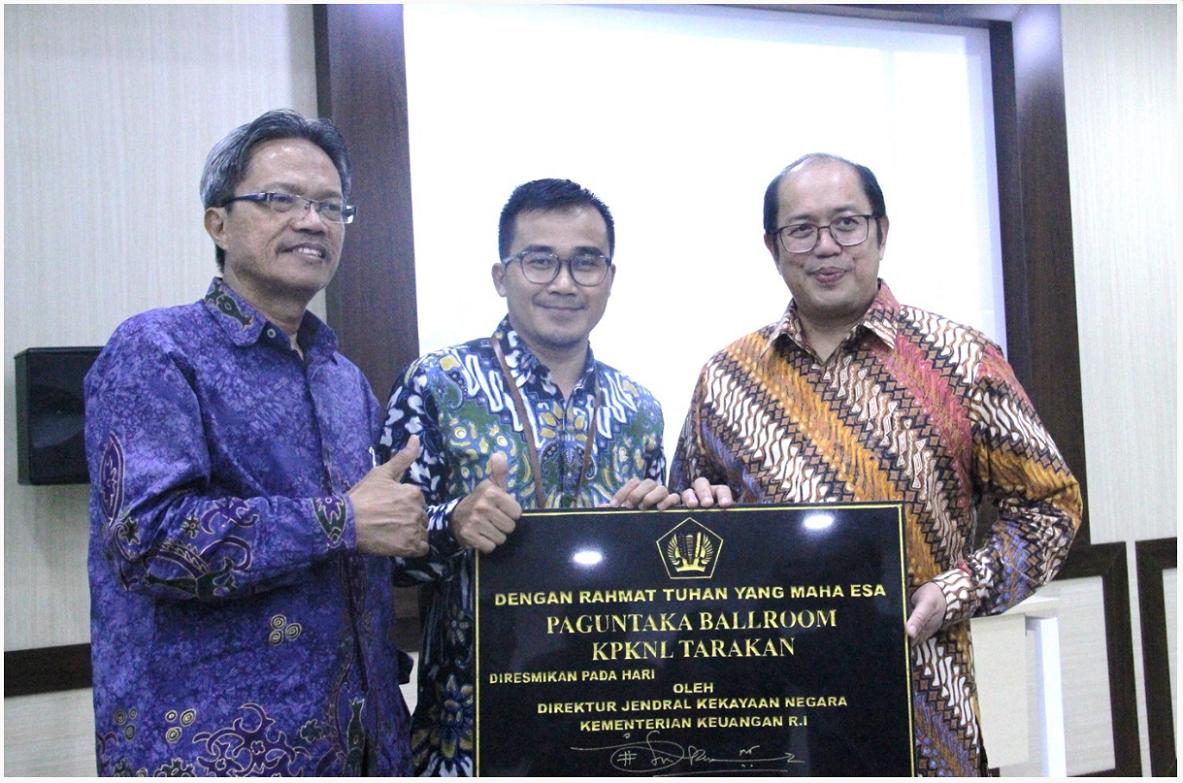 Pemanfaatan Ekonomi Aset Penghasil PNBP Melalui Paguntaka Ballroom KPKNL Tarakan