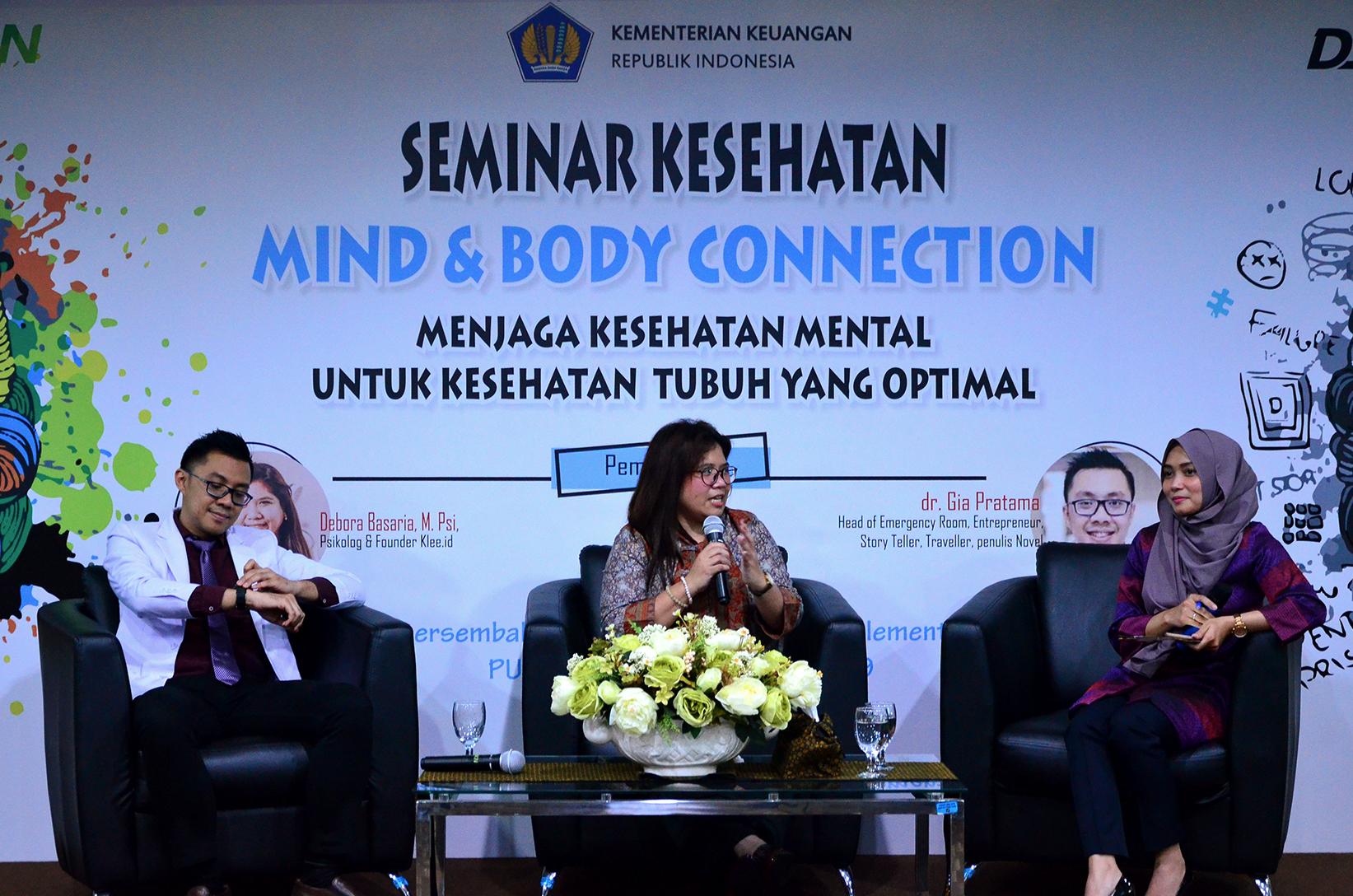 Melalui Seminar Kesehatan, PUG Dukung Pentingnya Kesehatan Mental Pegawai