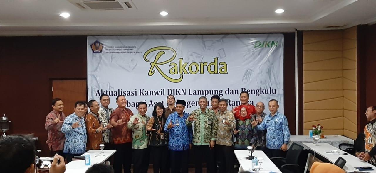 Kolaborasi Pemkab Lampung Tengah Dalam Pelaksanaan  Rakorda Kanwil DJKN Lampung dan Bengkulu