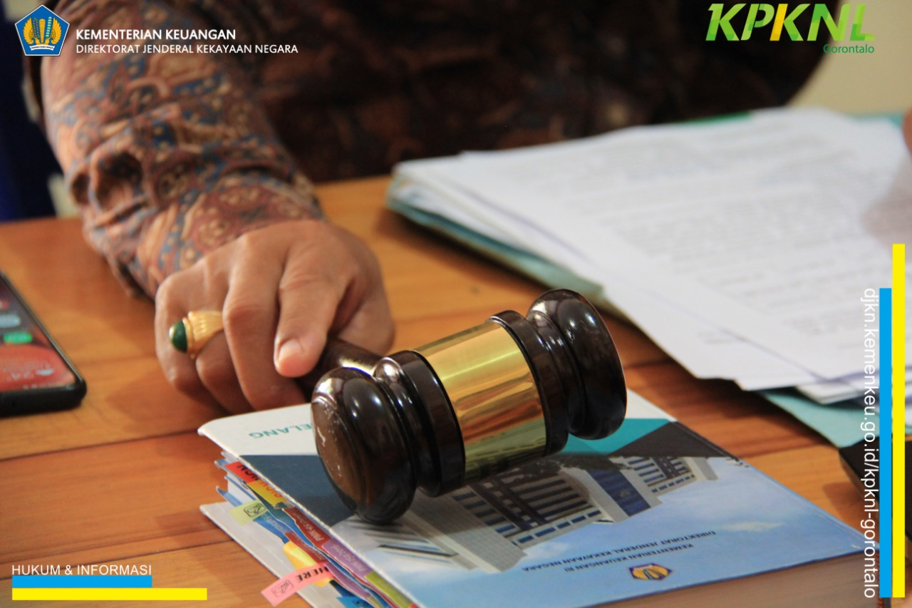 Awali 2020, KPKNL Gorontalo lelang 4 Ton Kotak Suara KPU Pohuwato