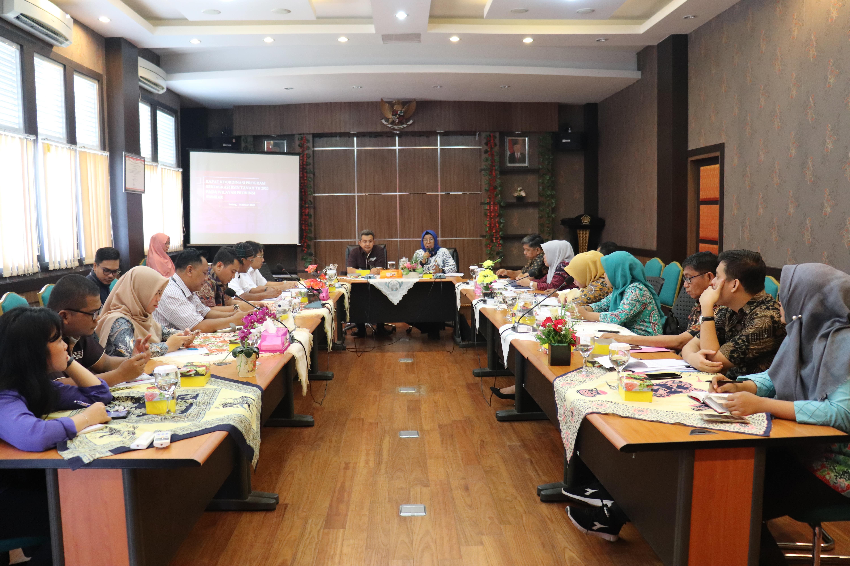 Awal 2020, KPKNL Padang Rapat Koordinasi Percepatan Program Pensertipikatan Sertipikasi BMN Berupa Tanah Tahun 2020