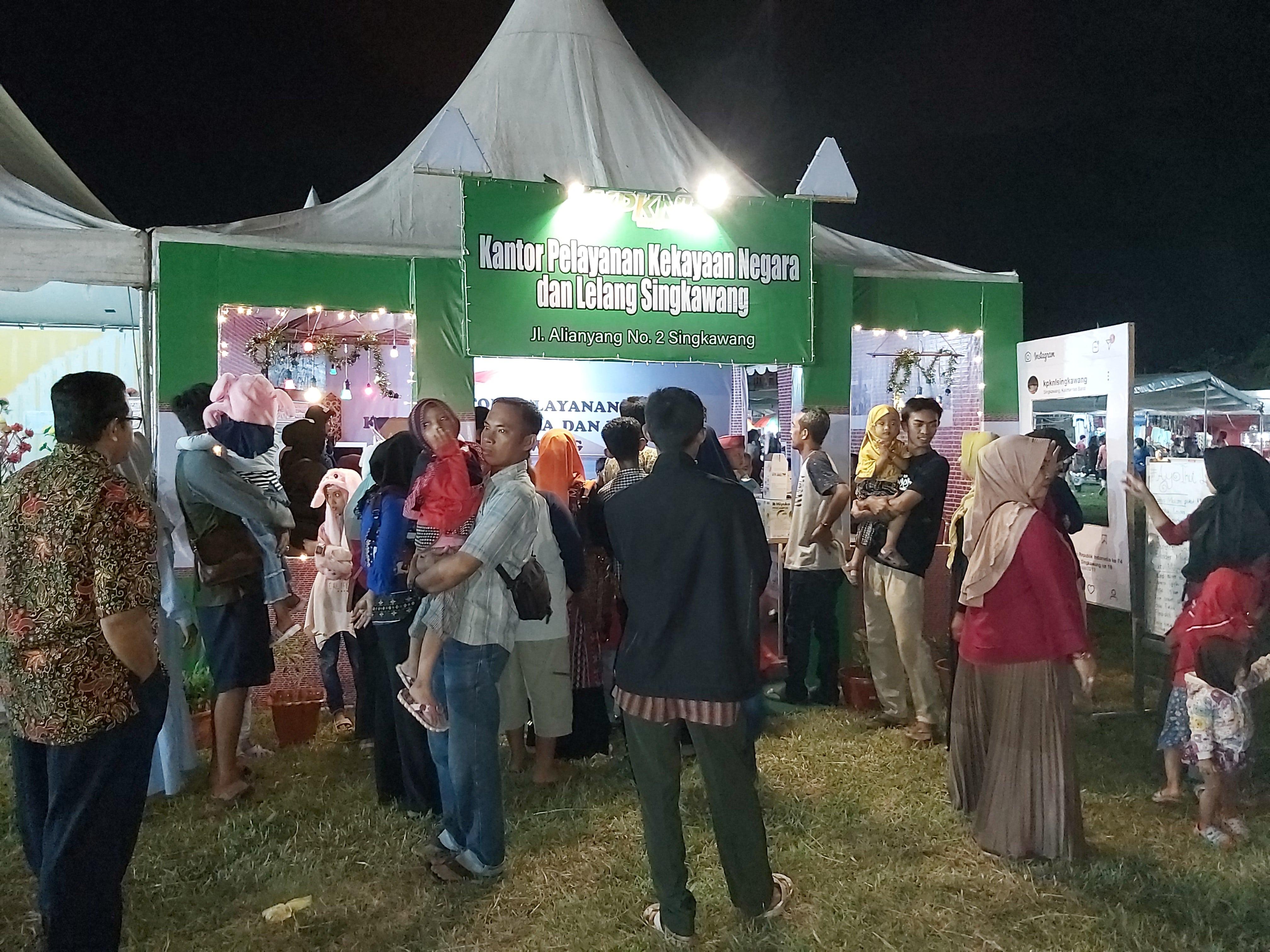 KPKNL Singkawang Ikut Serta Memeriahkan Singkawang Expo 2019