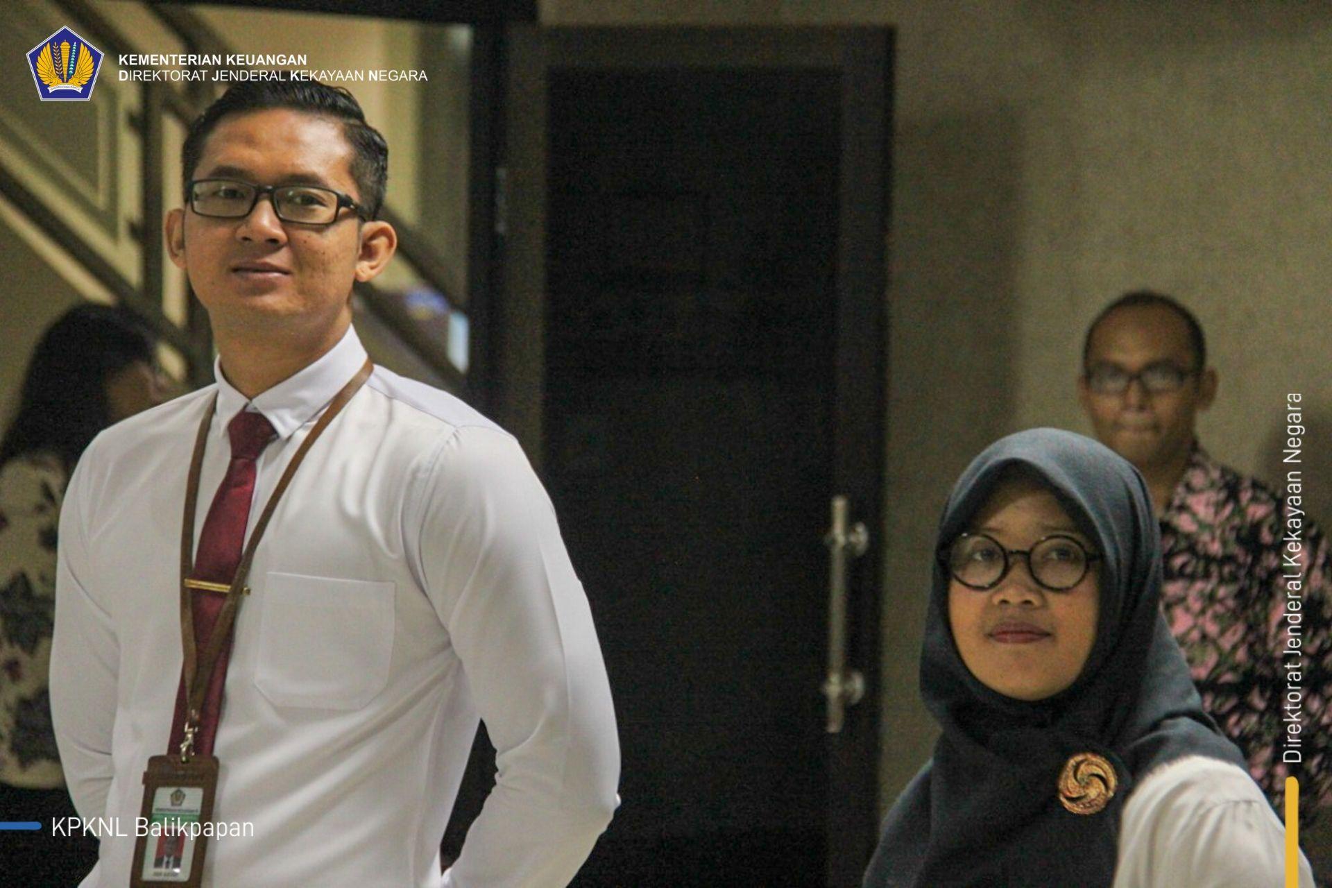 Lantik Dua Jurusita, Kakanwil DJKN Kaltimtara Pesan Untuk Jaga Integritas
