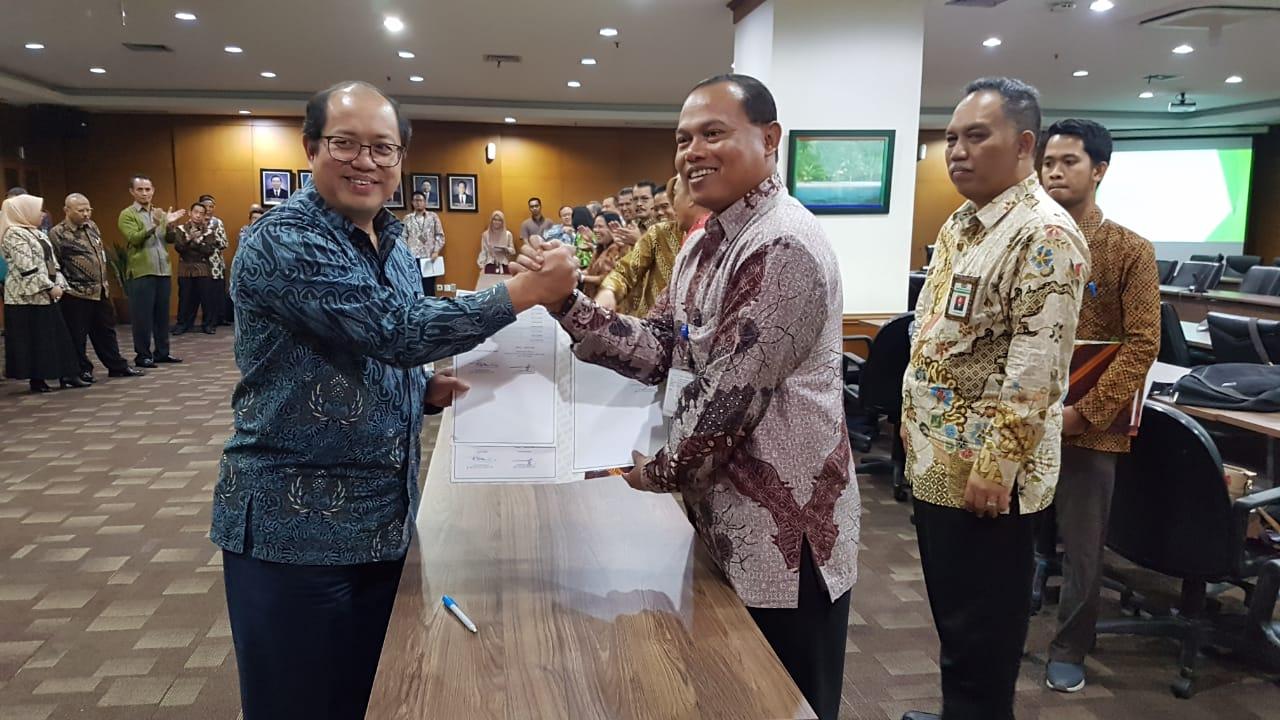 Kakanwil DJKN Papabaruku telah menandatangani Kontrak Kinerja Kemenkeu-Two Tahun 2020