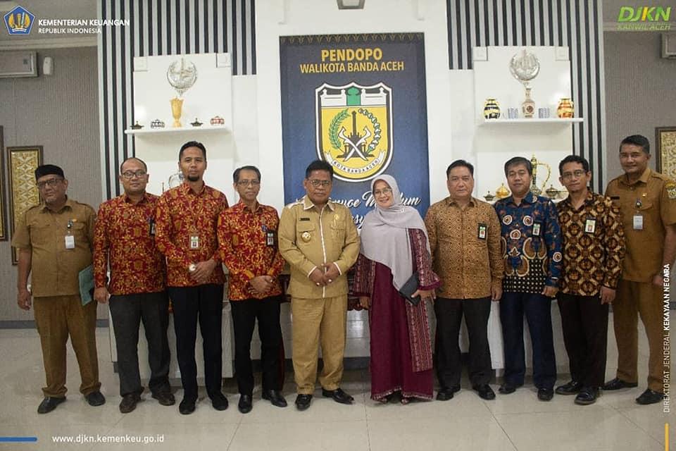 Kanwil DJKN Aceh Jalin Tali Silaturrahim Dengan Walikota Banda Aceh
